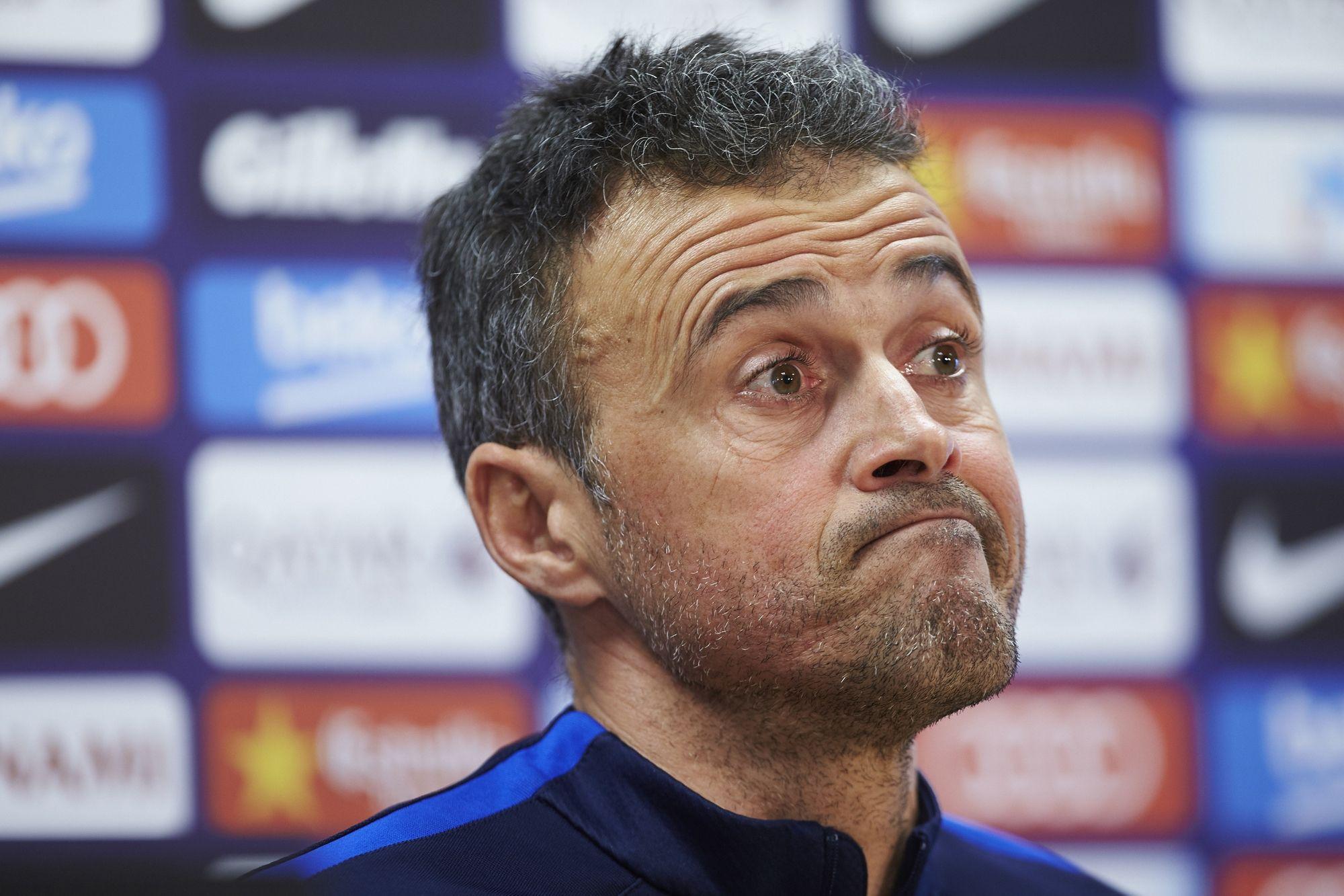Clima entre Luis Enrique e jogadores do Barcelona não é bom, diz jornal #globoesporte