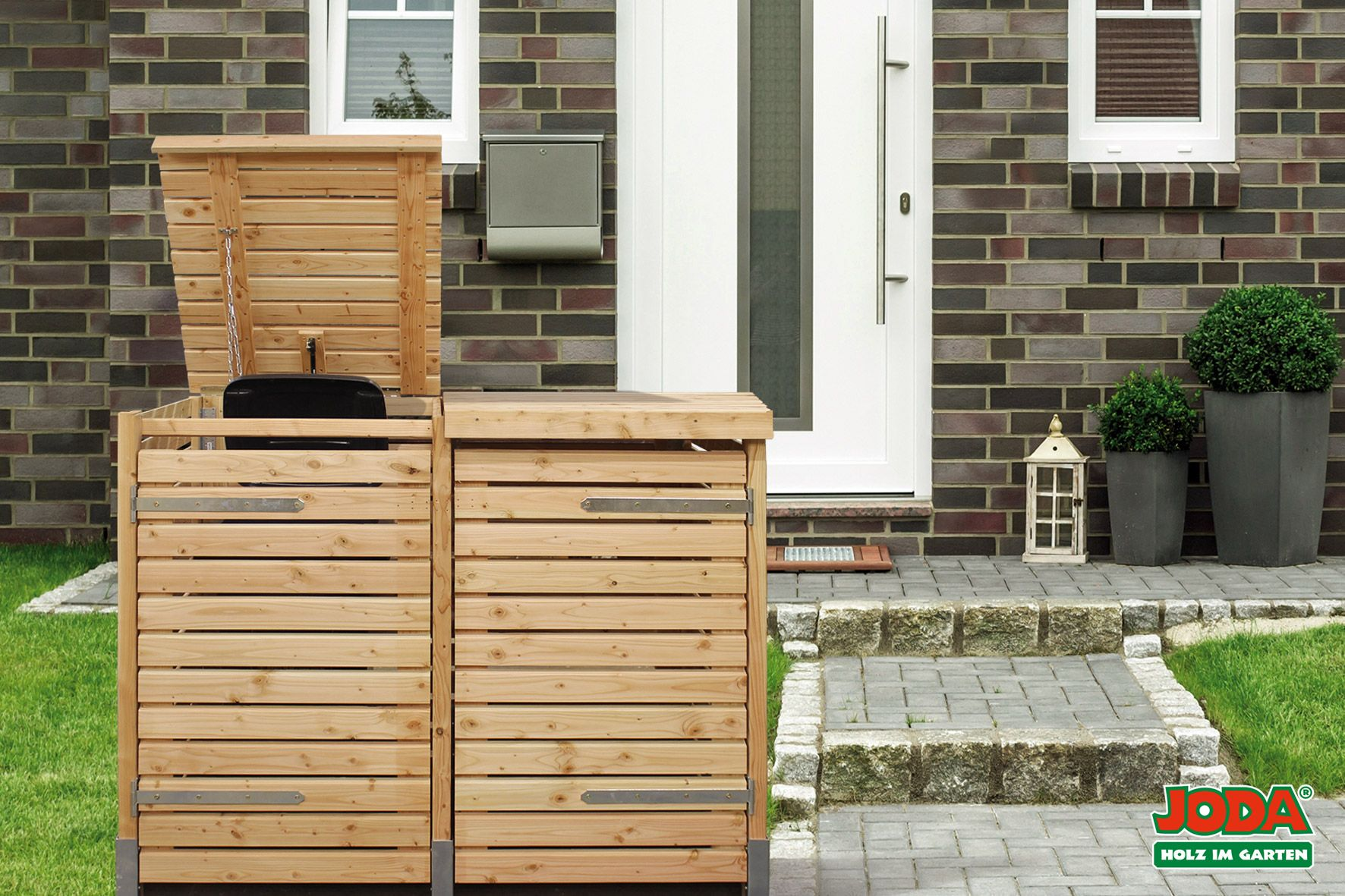 Mulltonnenbox Selber Bauen Beton Gartenkuche Selber Bauen Selber