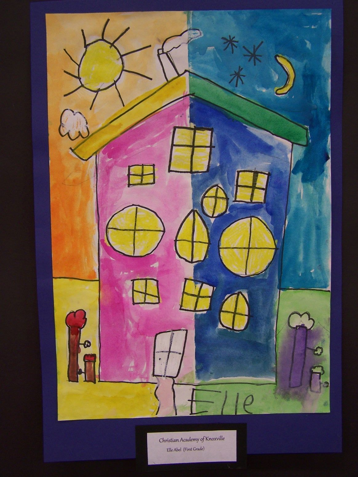 2nd Grade Using Warm And Cool Colors Expressively Draw