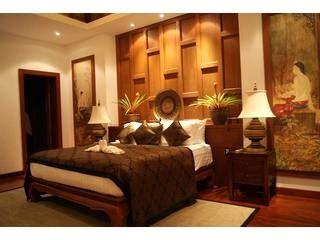 Luxury Thai Bedroom Surin Beach Jungle Villa แต งบ าน บ าน