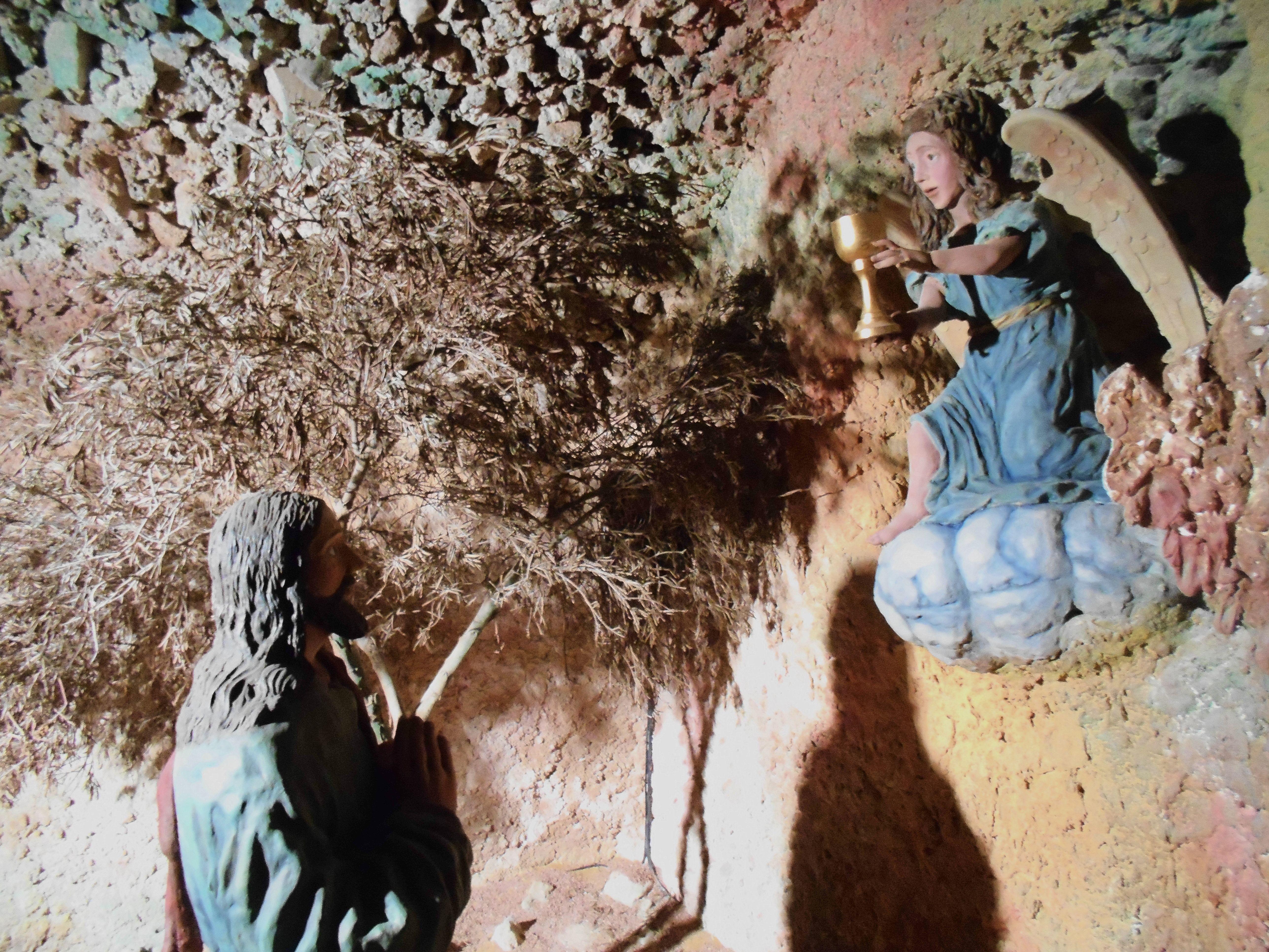 Ermita de San Sebastian. Cripta de los Judíos. Oración del Huerto.