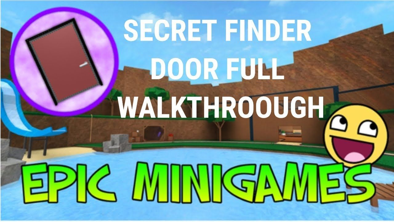 How to get the SECRET FINDER BADGE Roblox Epic Minigames