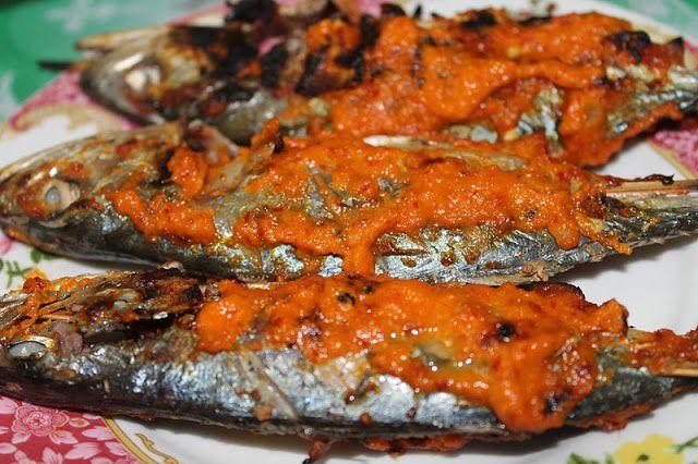resepi ikan kembung bakar simple resep bunda erita Resepi Ikan Kembung Masak Sambal Serai Enak dan Mudah