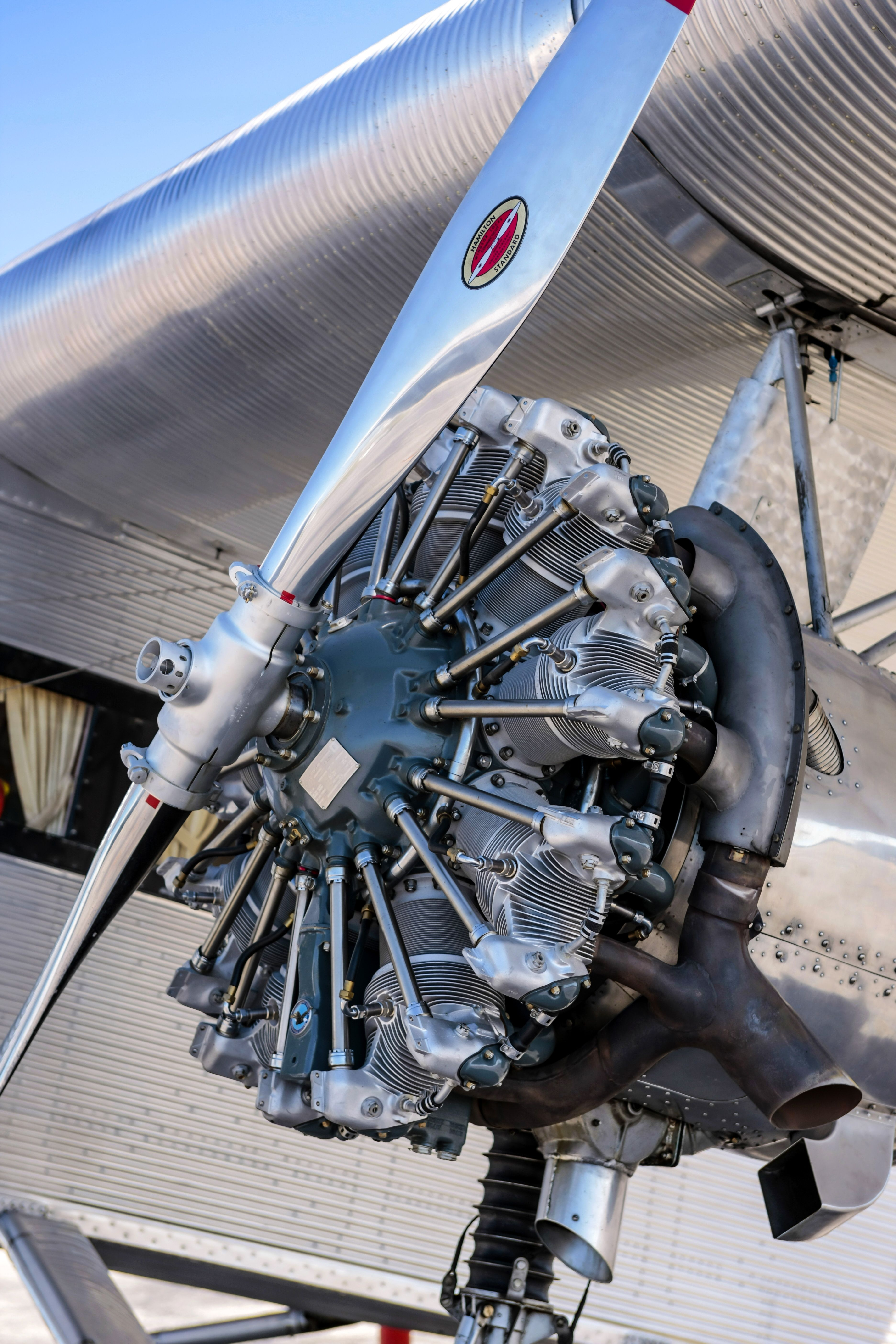 Ford Trimotor Radial engine | Aviation | Aircraft propeller, Radial