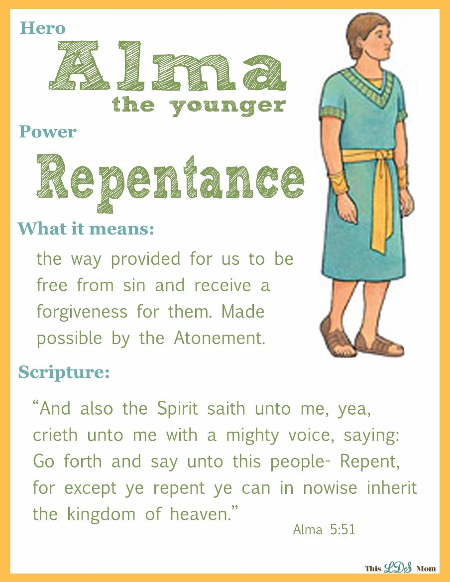 Alma The Younger Scripture Hero