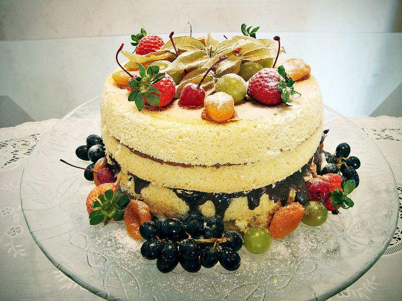 Naked Cake (Bolo pelado) | da docesedna