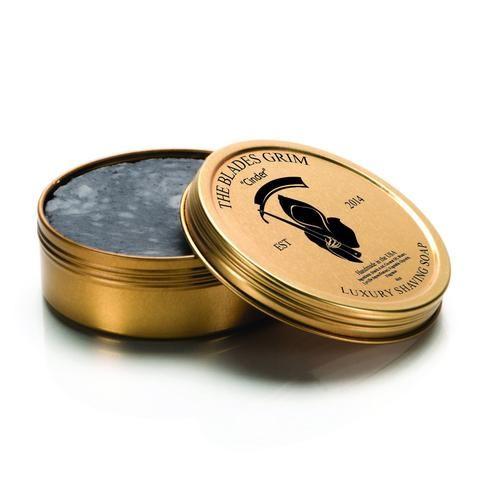 The Blades Grim Gold Luxury Shaving Soap Cinder Shaving Soap Classic Shaving Shaving