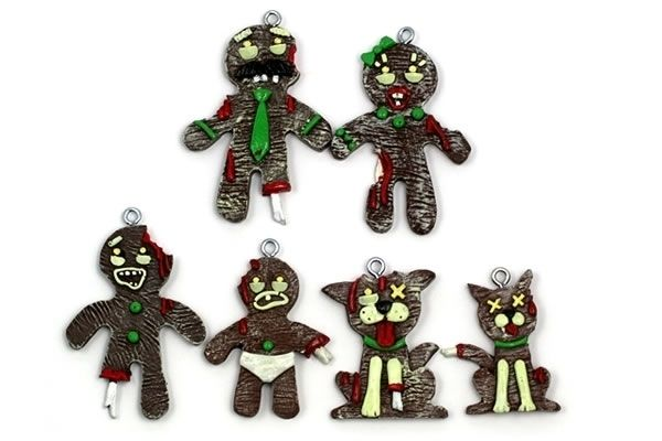 Twelve devilish decorations to infuse the spooky spirit into your holidays.  Family Christmas Ornaments, - Let Them Head Over To Your Tree And Check Out These Freakish Family