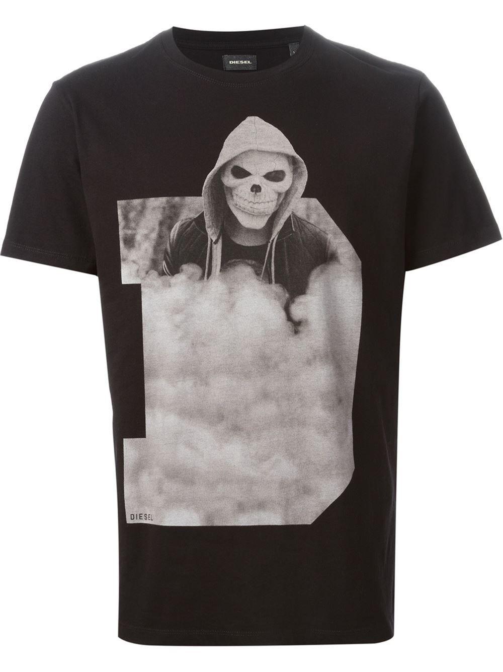 bb254bb07ea Diesel  t-triset  T-shirt - Vitkac - Farfetch.com