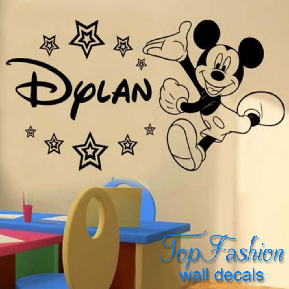 Nice Mickey Mouse Wall Decor Gallery - The Wall Art Decorations ...