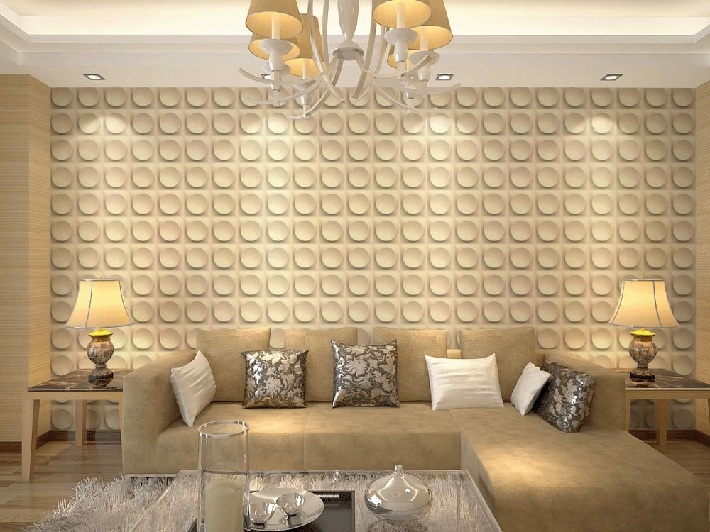 3D Wall Panels Living Room Bedroom Feature Wall Paper Board Felicity ...