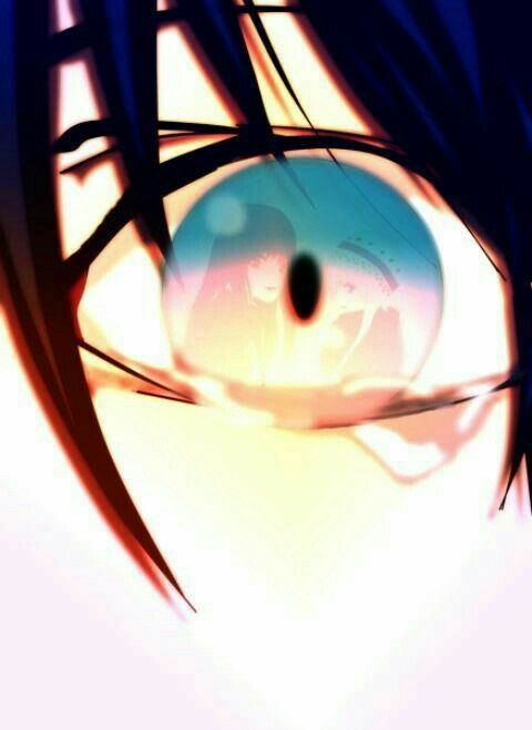 Yato Yukine Hiyori Sad Eye Reflection Tears Crying