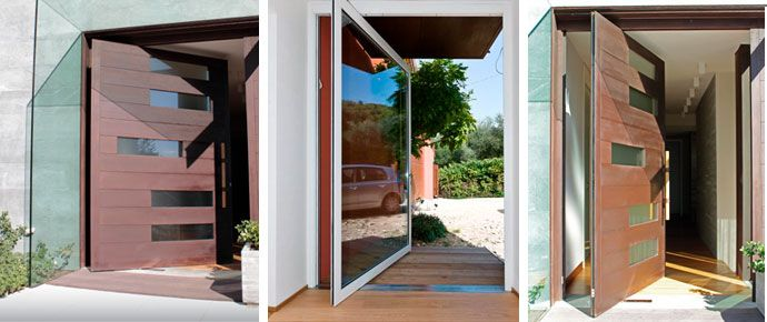 Pivot Doors Would Love Something Similar To This For The