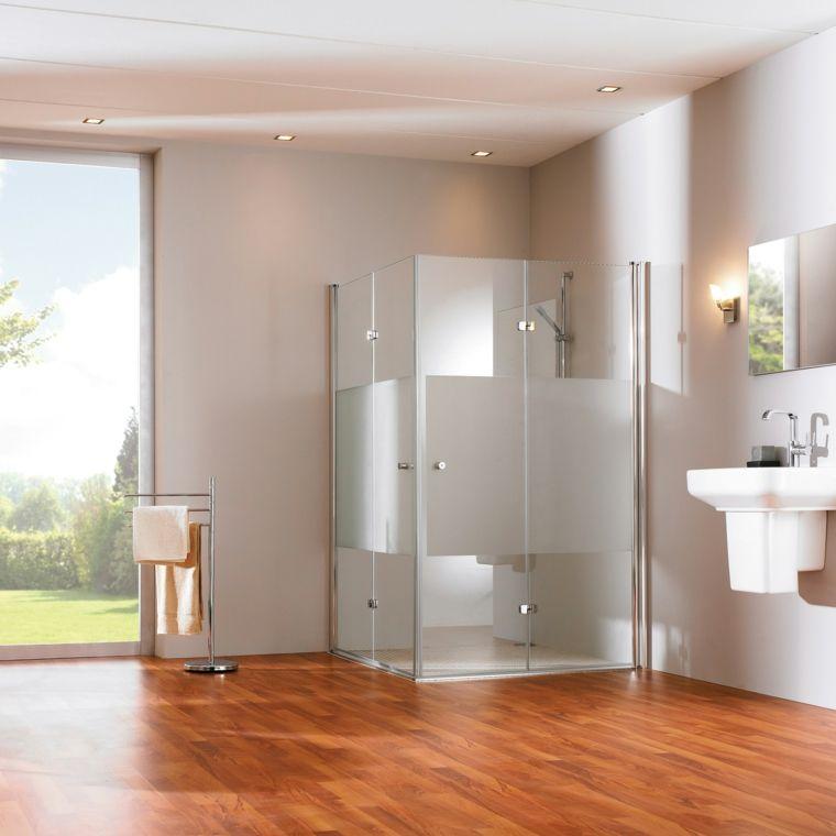 imagenes de banos modernos suelo madera ideas Interiores para