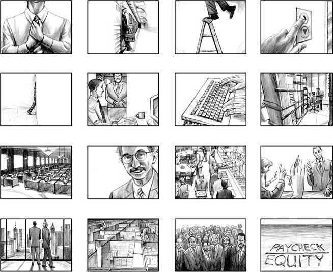 Corporate Commercial Storyboard  Inspiration B