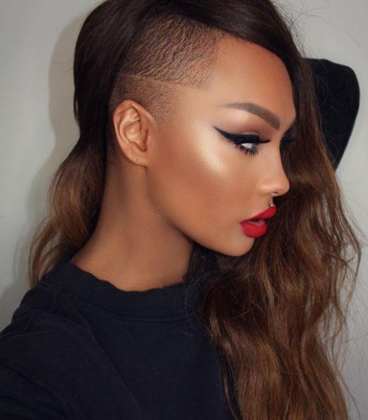 #Makeup #GLOW #BlackisBeautiful 😍