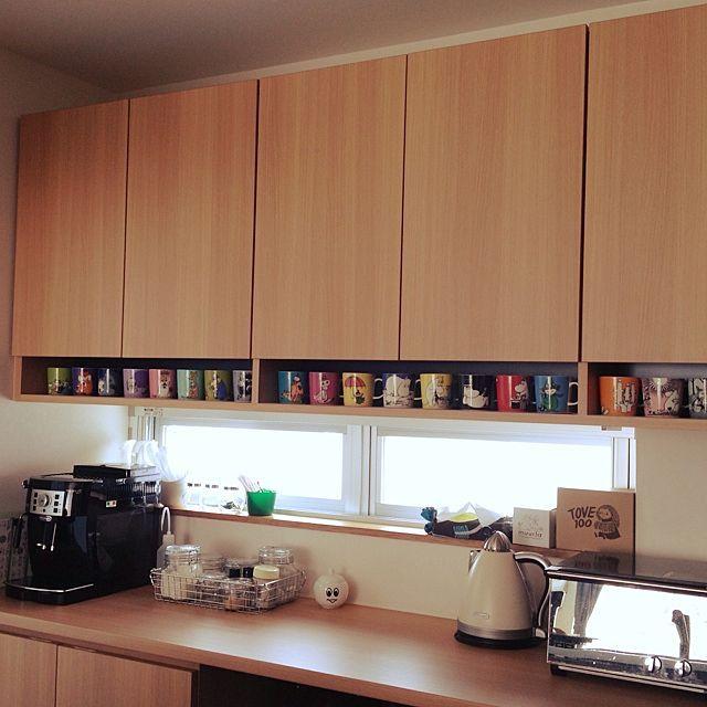 無印良品/デロンギ/食器棚/トースター/北欧/IKEA…などのインテリア実例 -2014-06-09 09:57:00