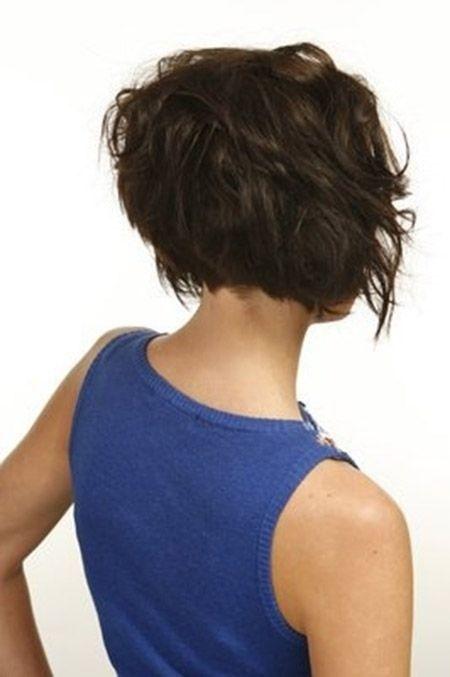 Messy Coiffures stratifiés pour cheveux courts
