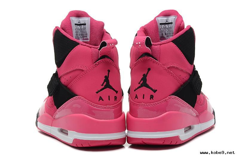 f9f340b4a720 547769-601 Nike Air Jordan Flight 45 High GS Vivid Pink Black Cheap ...