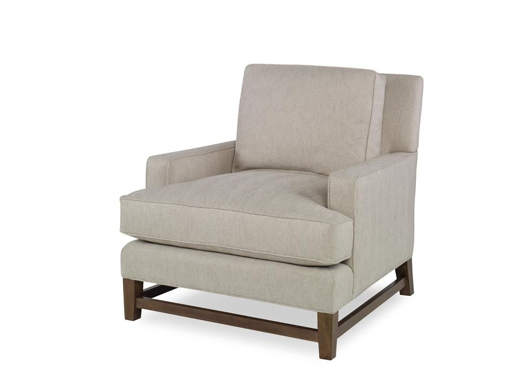 Perfect Curated Kravet READY TO SHIP PELHAM CHAIR QR 11056.NAT/IVORY.0
