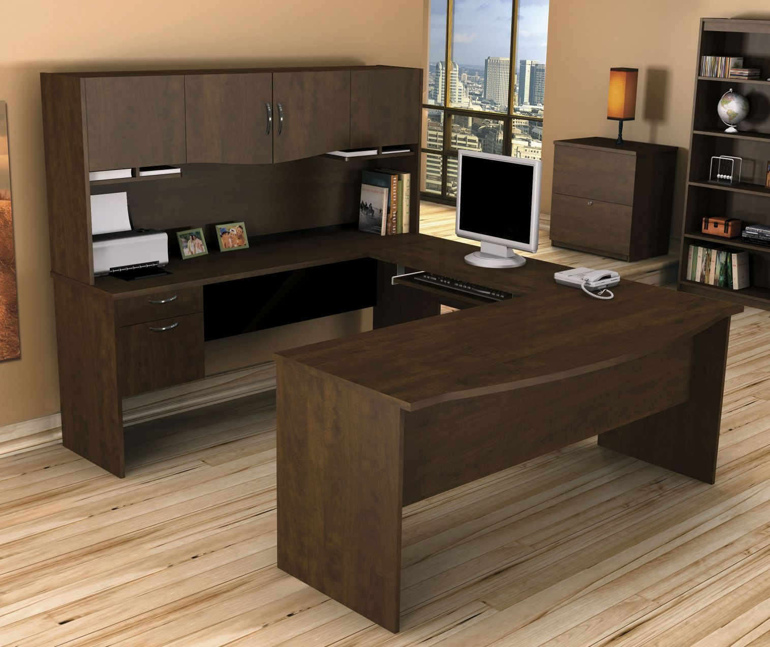 Bestar Office Desk Contemporary Home Furniture Check More At Http Www