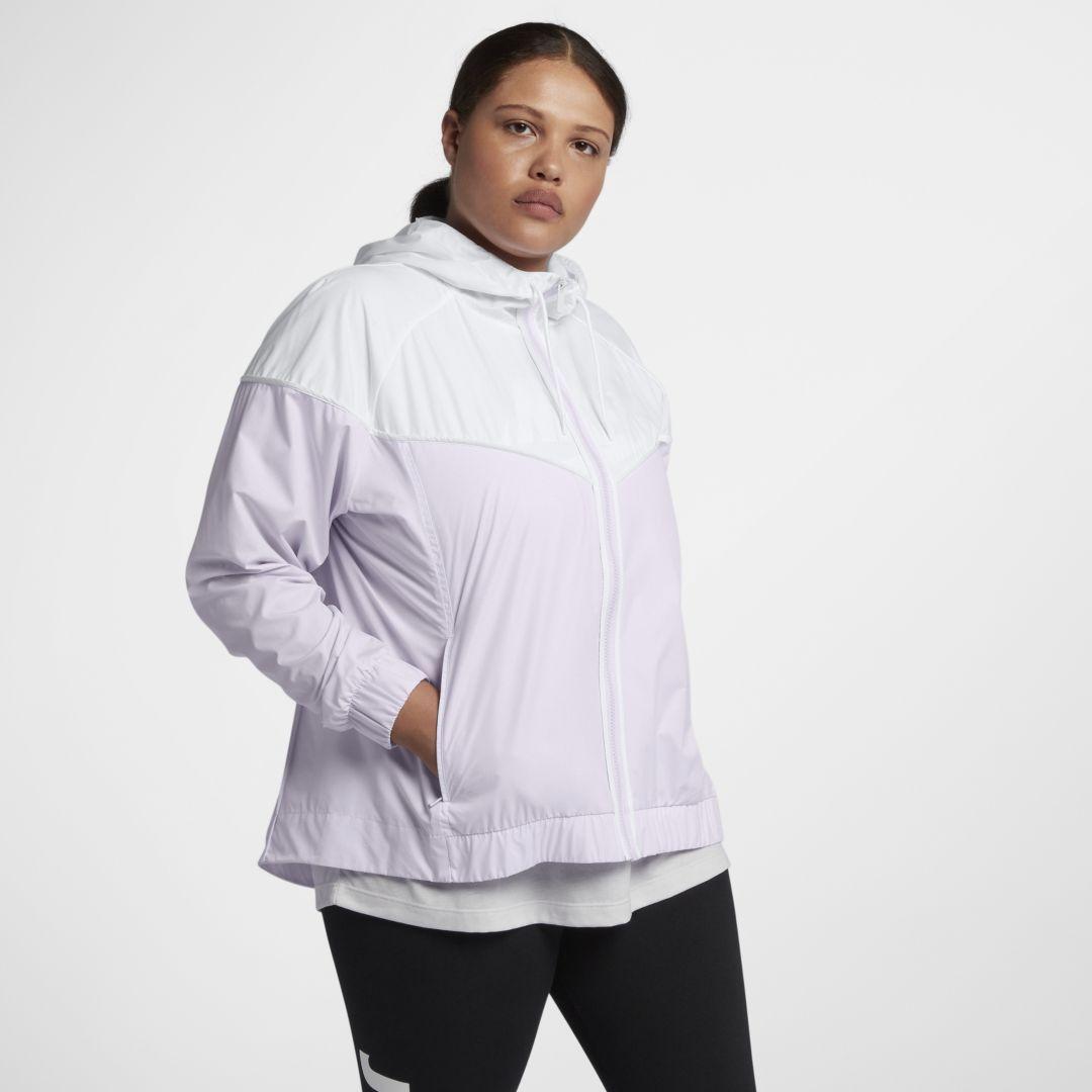 a82ee60c3739f Nike Sportswear Windrunner (Plus Size) Women's Jacket Size 2X (Barely Grape)