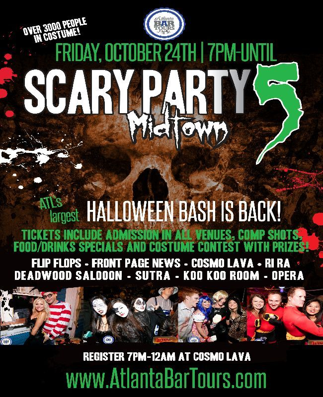 Scary Party 5 Midtown