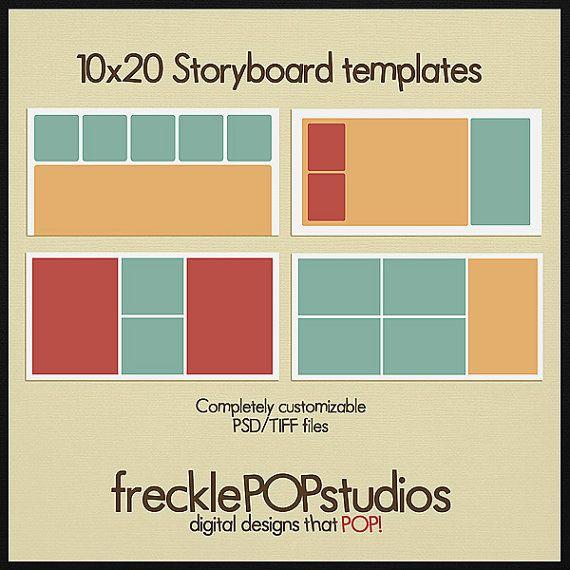 New Storyboard Templates  Shadow Art    Storyboard