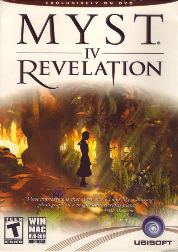 Myst Iv Revelation Download Cover Free Game Mysterious Places