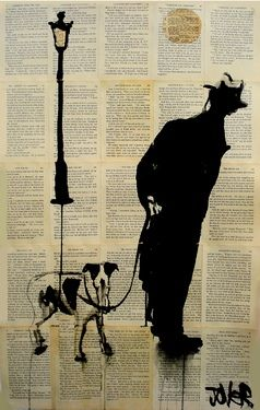 "Saatchi Online Artist Loui Jover; Drawing, ""curiosity"" #art"