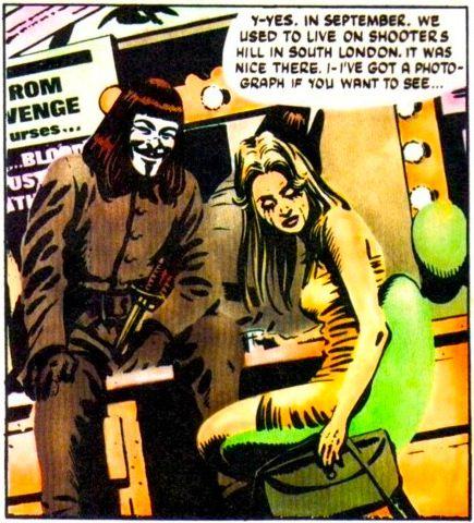 V For Vendetta V For Vendetta V For Vendetta Comic Vendetta