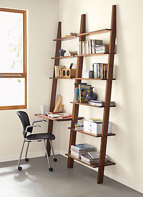 Pisa Modern Leaning Desk Modern Desks Tables Modern Office Furniture Room Board Leaning Desk Solid Wood Desk Shelves