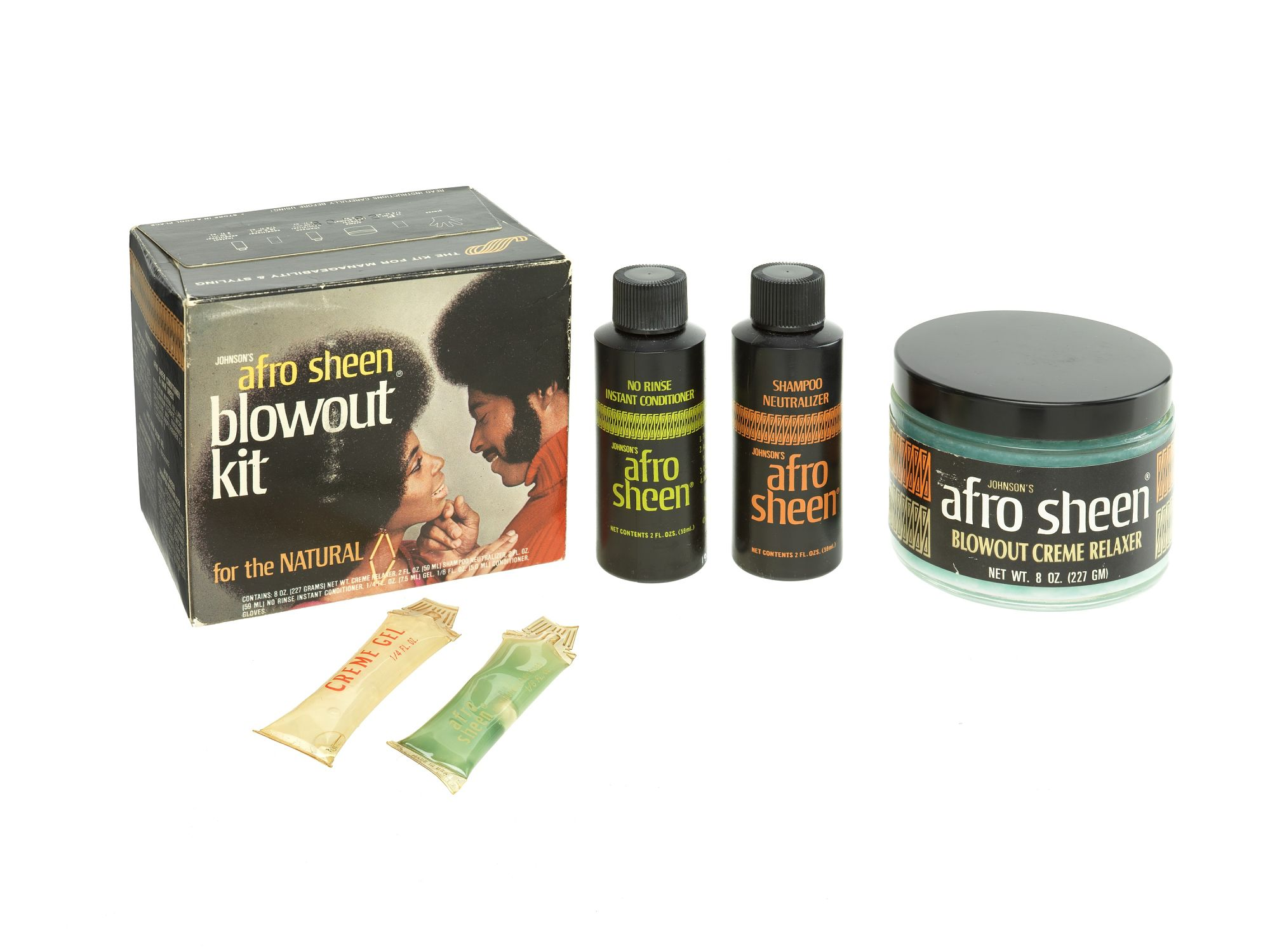 Johnson S Afro Sheen Blowout Kit For The Natural With Images