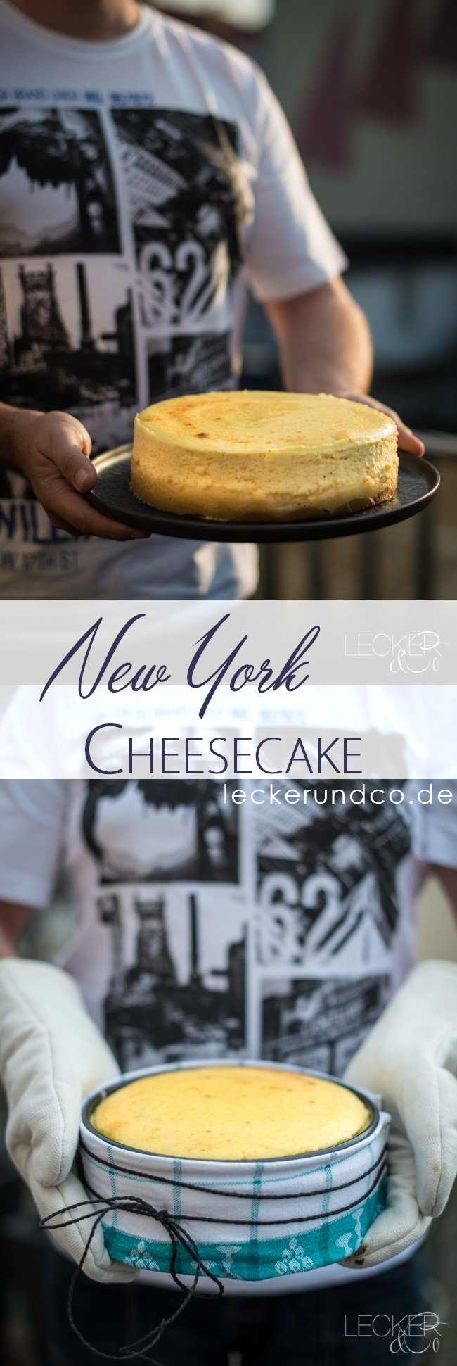 New York Cheesecake | LECKER & Co | Food blog from Nuremberg