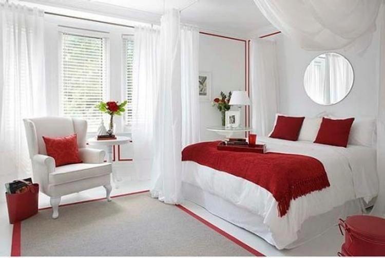 50 Inexpensive Romantic Bedroom Design Ideas # ...