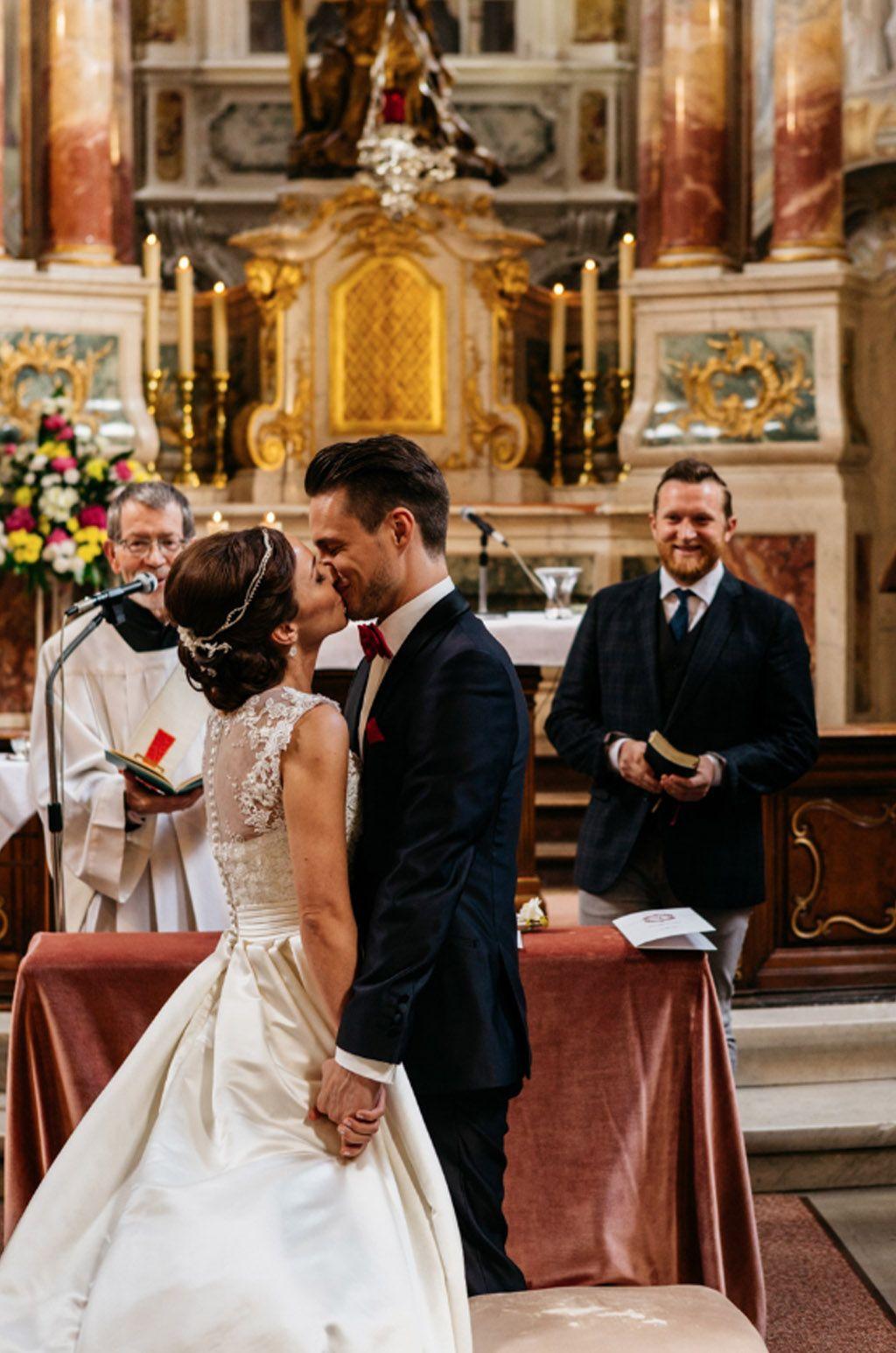 Traditional german wedding ceremony