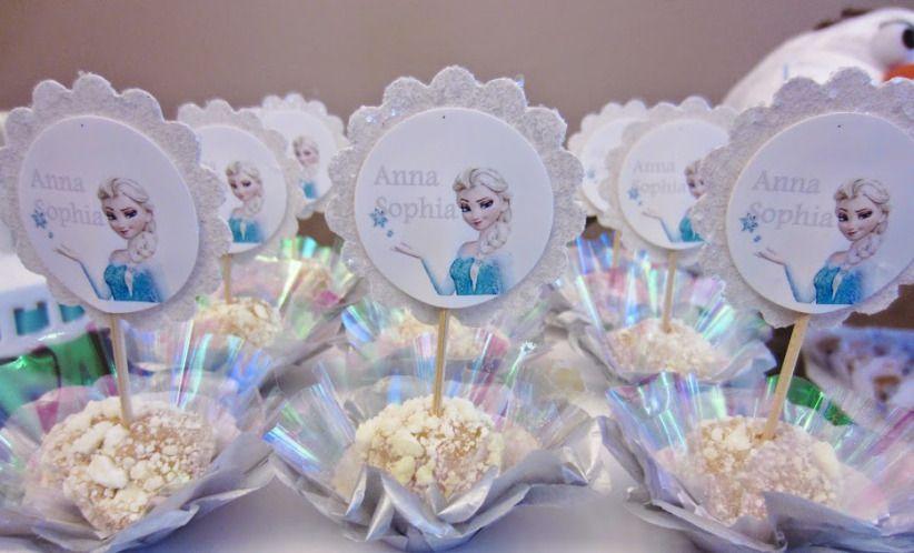 Festa tema Frozen festa de aniversrio Frozen aniversrio infantil