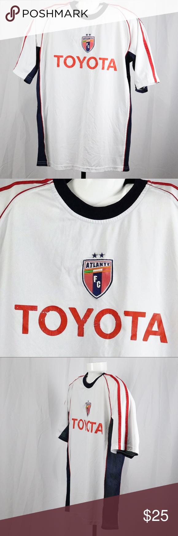 6c4f8d1e2 Toyota Soccer Jersey Size L Toyota Soccer Jersey Size L White