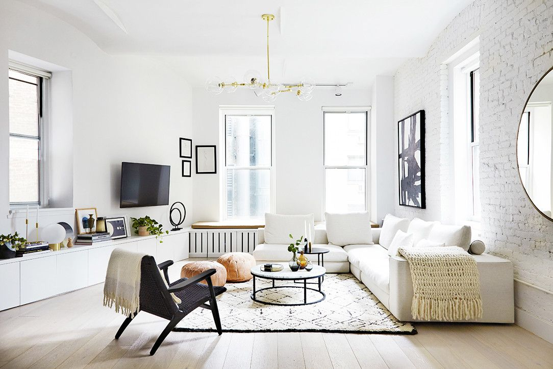 Tour An Insanely Stylish NYC Loft With Major Scandinavian