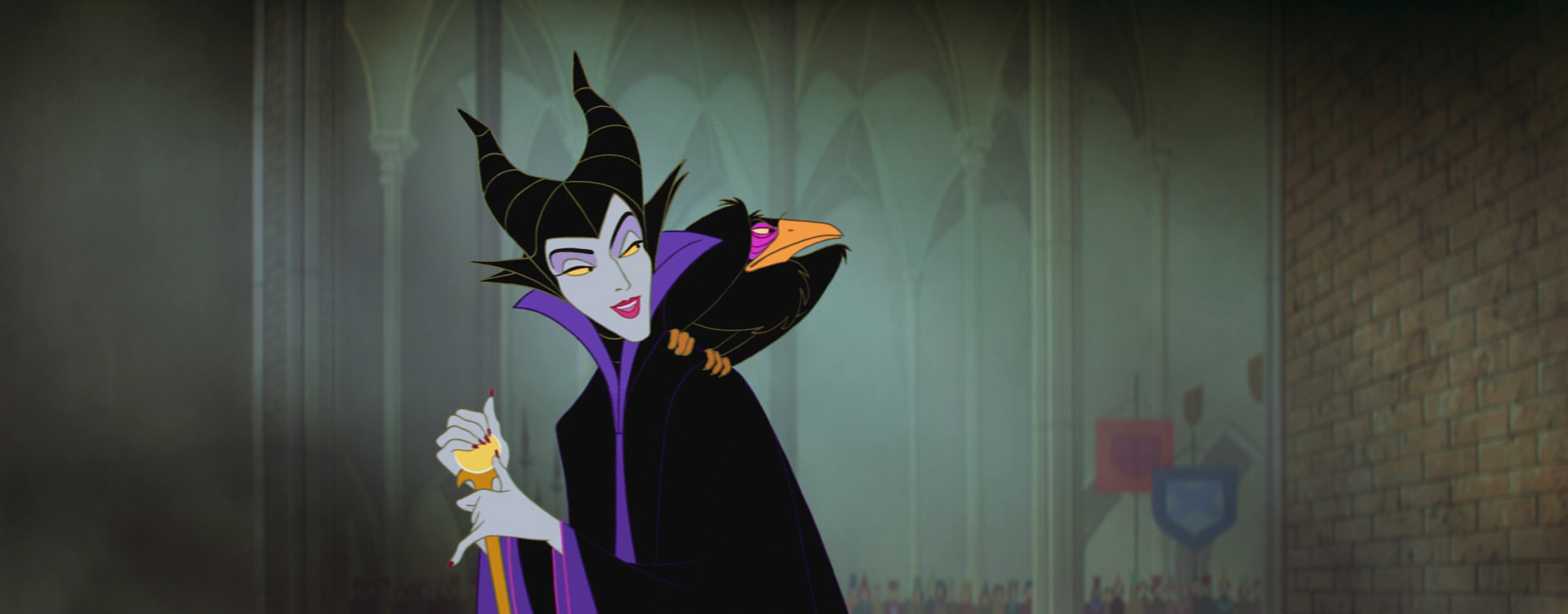 maleficent | Image - Maleficent's Facial Expression 3 - kmp.PNG - Disney Wiki