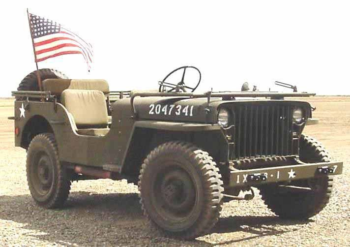 The First Willys Mb Jeeps Were Produced In 1941 Making It The