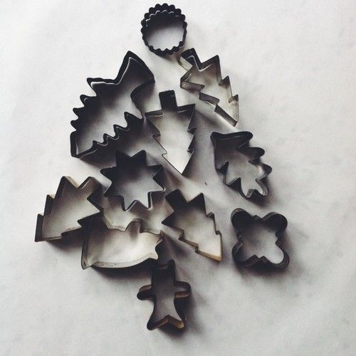 cookie cutter tree #xmas