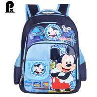 2016 high quality new school bags kids bag children girls backpacks schoolbag cartoons cute oxford cartable