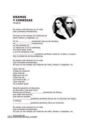 Dramas Y Comedias Fangoria Canciones Letras De Canciones Letras