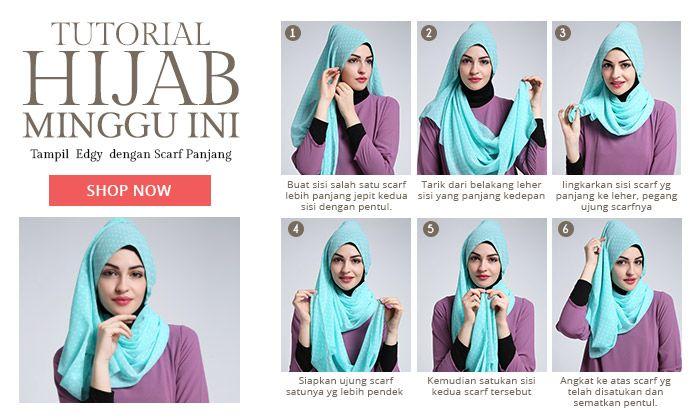 Tutorial Hijabenka Hijab Muslim Modern