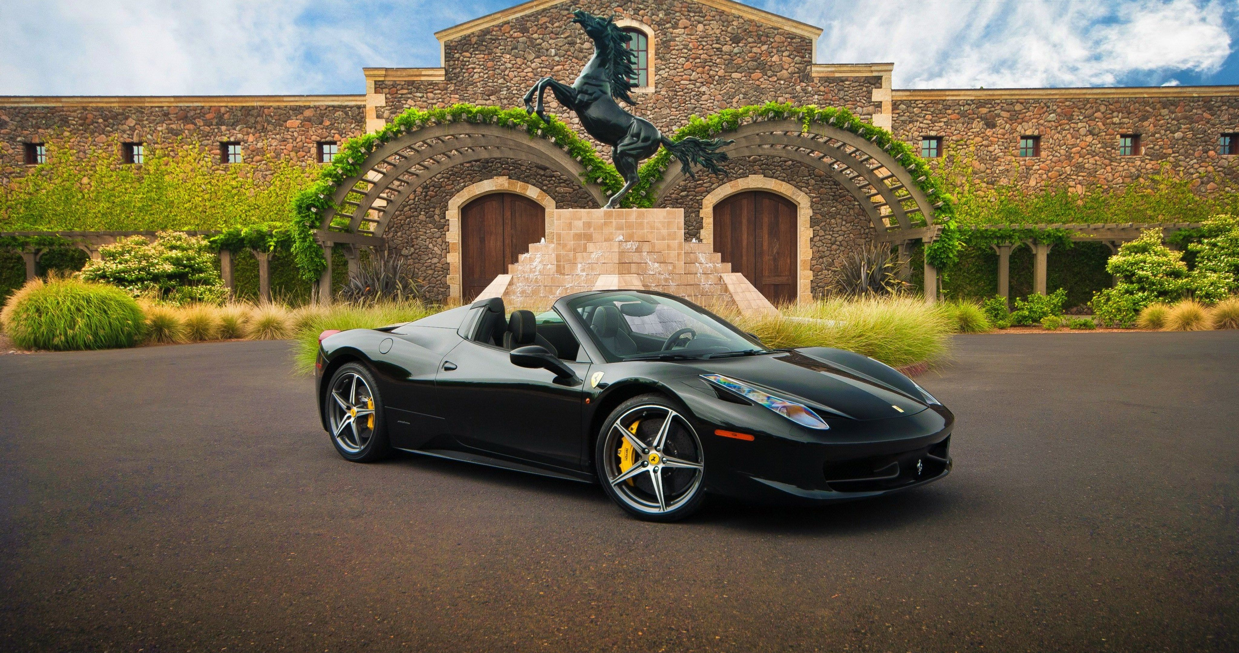 Ferrari 458 Spyder Super Car 4k Ultra Hd Wallpaper Ololoshenka