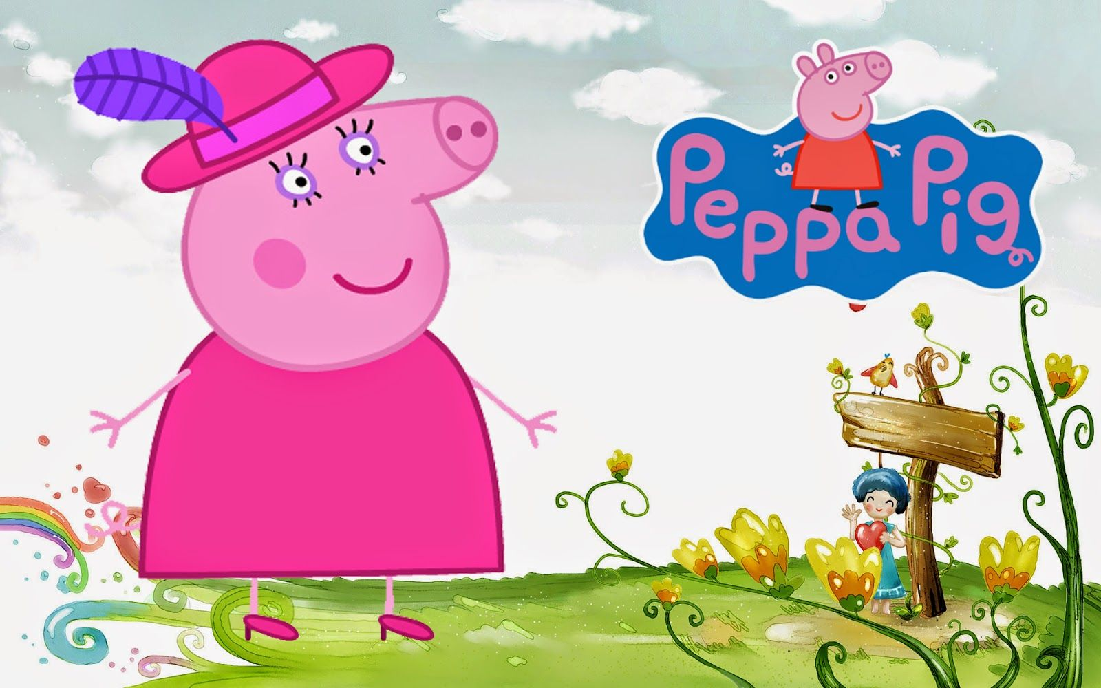 Group Of Wallpapers Peppa Pig