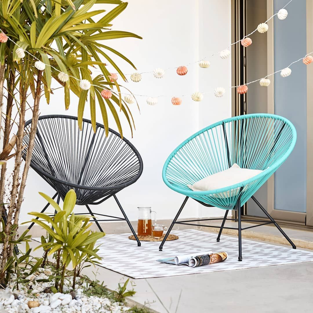 Le Fauteuil Urban Pour Un Exterieur Detente Tendance Disponible En Ou Gifi Urban Spring Sun Zen Relax Decor Home Decor Interior Balcony