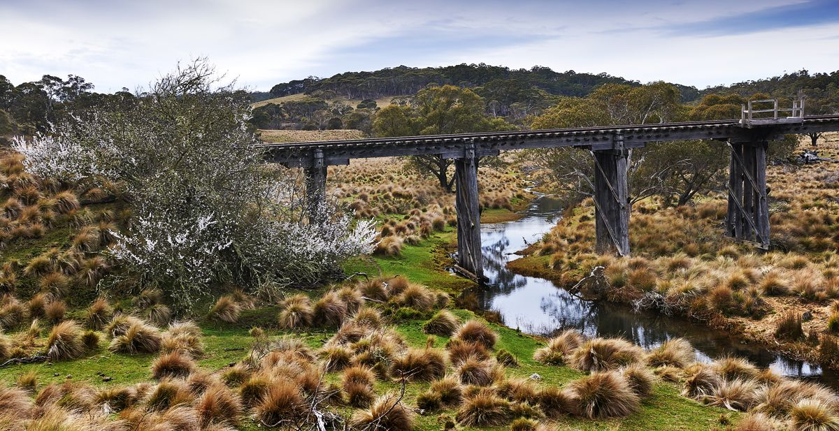 Abandoned rail bridge NSW