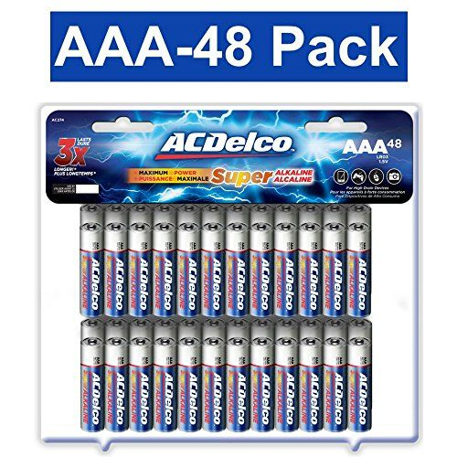 Top 10 Aaa Batteries Of 2021 No Place Called Home Alkaline Battery Acdelco Aaa Batteries